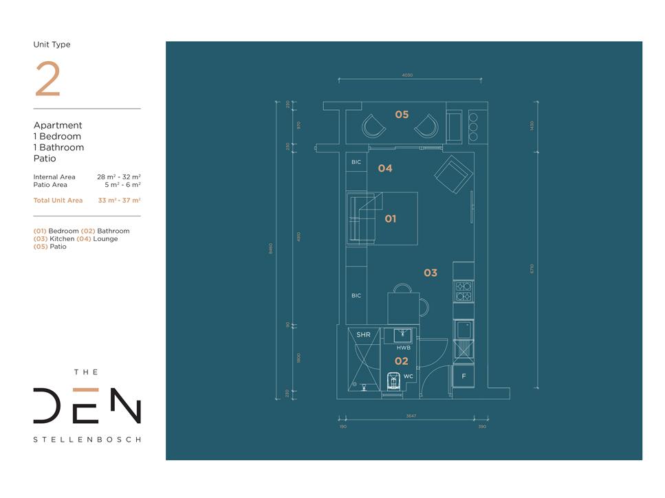 Type 2 Floor Plan