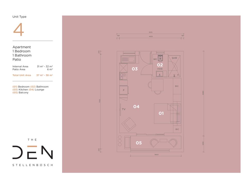 Type 4 Floor Plan