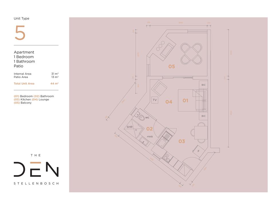 Type 5 Floor Plan