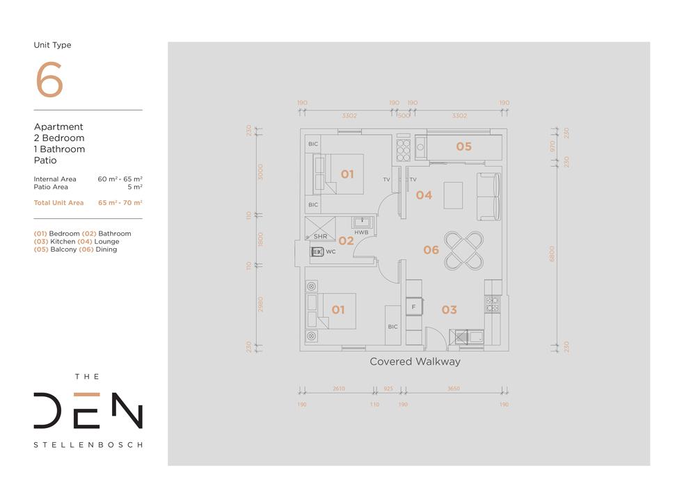 Type 6 Floor Plan